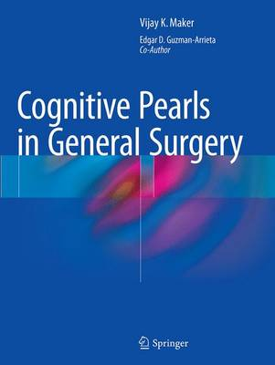 Cognitive Pearls in General Surgery (Paperback)