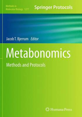 Metabonomics: Methods and Protocols - Methods in Molecular Biology 1277 (Paperback)
