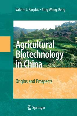 Agricultural Biotechnology in China: Origins and Prospects (Paperback)