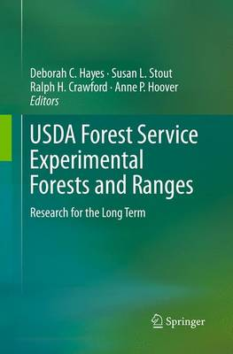 USDA Forest Service Experimental Forests and Ranges: Research for the Long Term (Paperback)