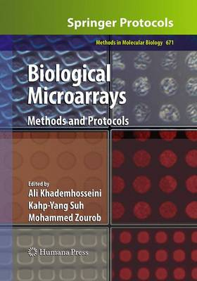 Biological Microarrays: Methods and Protocols - Methods in Molecular Biology 671 (Paperback)