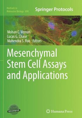 Mesenchymal Stem Cell Assays and Applications - Methods in Molecular Biology 698 (Paperback)