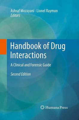 Handbook of Drug Interactions: A Clinical and Forensic Guide (Paperback)