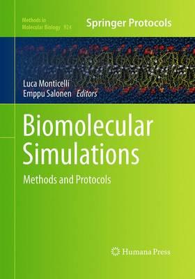 Biomolecular Simulations: Methods and Protocols - Methods in Molecular Biology 924 (Paperback)