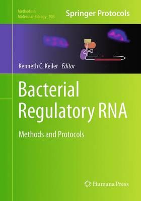 Bacterial Regulatory RNA: Methods and Protocols - Methods in Molecular Biology 905 (Paperback)