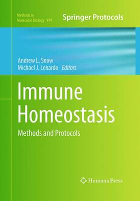 Immune Homeostasis: Methods and Protocols - Methods in Molecular Biology 979 (Paperback)