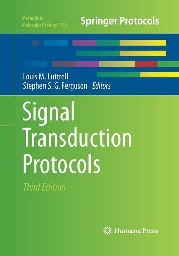 Signal Transduction Protocols - Methods in Molecular Biology 756 (Paperback)