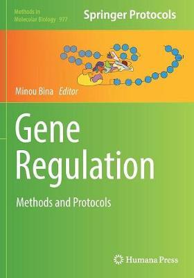 Gene Regulation: Methods and Protocols - Methods in Molecular Biology 977 (Paperback)