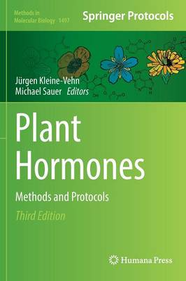 Plant Hormones: Methods and Protocols - Methods in Molecular Biology 1497 (Hardback)