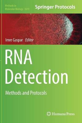 RNA Detection: Methods and Protocols - Methods in Molecular Biology 1649 (Hardback)
