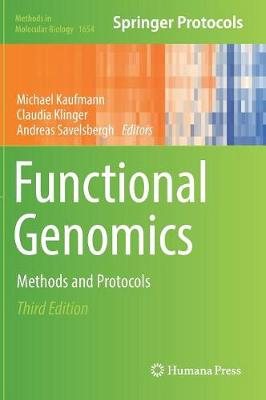 Cover Functional Genomics: Methods and Protocols - Methods in Molecular Biology 1654