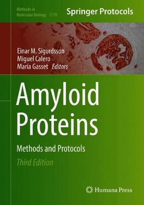 Amyloid Proteins: Methods and Protocols - Methods in Molecular Biology 1779 (Hardback)