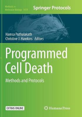 Programmed Cell Death: Methods and Protocols - Methods in Molecular Biology 1419 (Paperback)