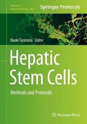 Hepatic Stem Cells: Methods and Protocols - Methods in Molecular Biology 1905 (Hardback)