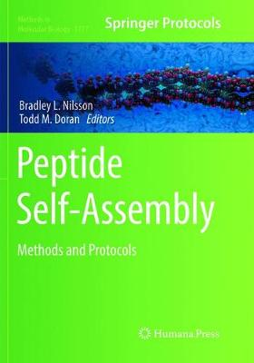 Peptide Self-Assembly: Methods and Protocols - Methods in Molecular Biology 1777 (Paperback)