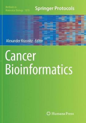 Cancer Bioinformatics - Methods in Molecular Biology 1878 (Paperback)
