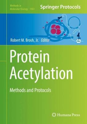 Protein Acetylation: Methods and Protocols - Methods in Molecular Biology 1983 (Hardback)