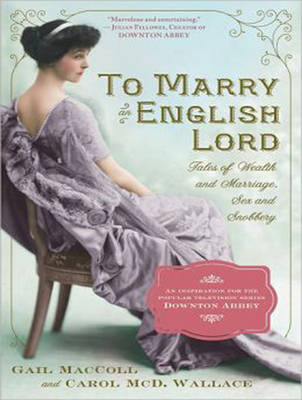 To Marry an English Lord (CD-Audio)