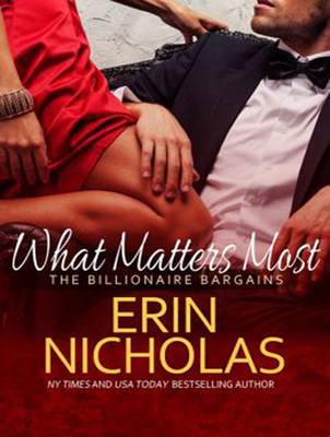 What Matters Most - Billionaire Bargains 2 (CD-Audio)