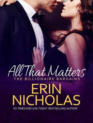 All That Matters - Billionaire Bargains 3 (CD-Audio)