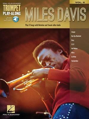 Trumpet Play-Along Volume 6: Miles Davis (Book/Online Audio) (Paperback)