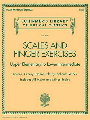 Scales And Finger Exercises Upper Elementary To Lower Intermediate Piano (Paperback)