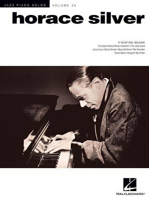 Horace Silver - Jazz Piano Solos 34 (Paperback)