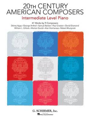 20th Century American Composers Intermediate Level Piano (Paperback)