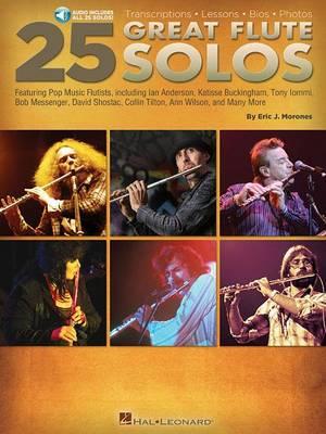 Eric J. Morones: 25 Great Flute Solos (Paperback)