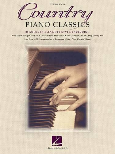 Country Piano Classics (Paperback)