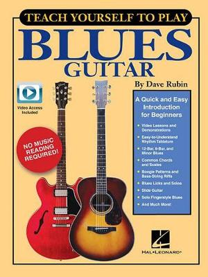 Teach Yourself To Play Blues Guitar (Book/Online Media) (Paperback)