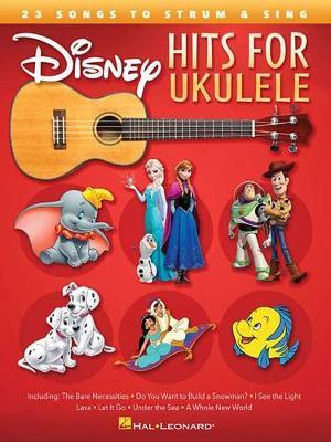 Disney Hits For Ukulele (Paperback)