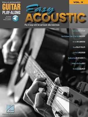 Guitar Play-Along Volume 9: Easy Acoustic Songs (Book/Online Audio) (Paperback)