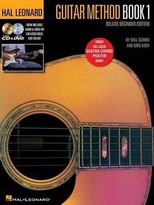 Hal Leonard Guitar Method Book 1: Deluxe Beginner Edition