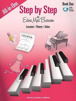 Edna Mae Burnam: Step By Step All-In-One Edition Book 1 (Book/Online Audio) (Paperback)
