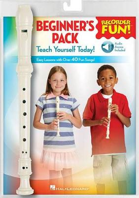 Recorder Fun! Beginner's Pack: Teach Yourself Today - Easy Lessons with Over 40 Fun Songs!