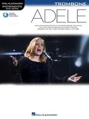 Hal Leonard Instrumental Play-Along: Adele - Trombone (Book/Online Audio) (Paperback)