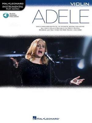 Hal Leonard Instrumental Play-Along: Adele - Violin (Book/Online Audio) (Paperback)