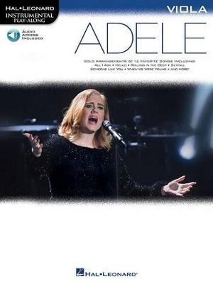 Hal Leonard Instrumental Play-Along: Adele - Viola (Book/Online Audio) (Paperback)