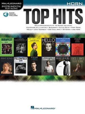 Hal Leonard Instrumental Play-Along: Top Hits - Horn