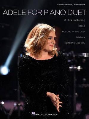 Adele for Piano Duet 1pf 4hands Pfduet Intermediate Bk (Paperback)