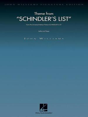 John Williams: Theme From Schindler's List (Paperback)