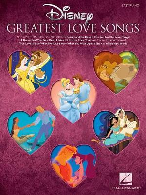 Disney's Greatest Love Songs (Easy Piano Book) (Paperback)