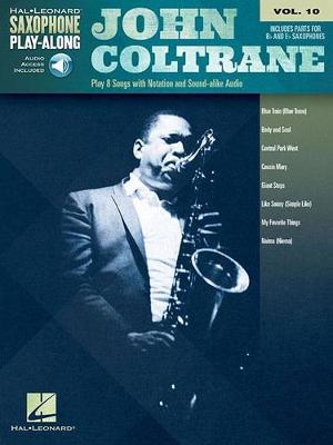 Saxophone Play-Along Volume 10: John Coltrane (Book/Online Audio) (Paperback)
