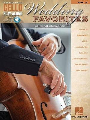 Wedding Favorites: With Downloadable Audio - Cello Play-Along 4 (Paperback)