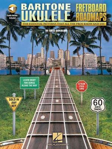 Fretboard Roadmaps - Baritone Ukulele (Book/Online Audio) (Paperback)
