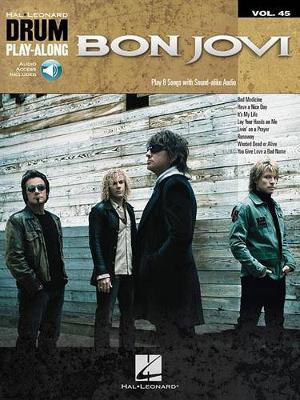 Drum Play-Along Volume 45 Bon Jovi Drums (Paperback)