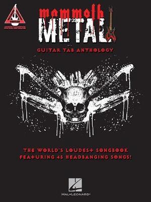 Guitar Recorded Versions: Mammoth Metal Guitar Tab Anthology (Paperback)