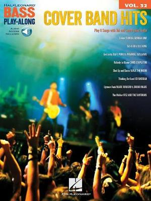 Cover Band Hits: Bass Play-Along Volume 32 (Paperback)