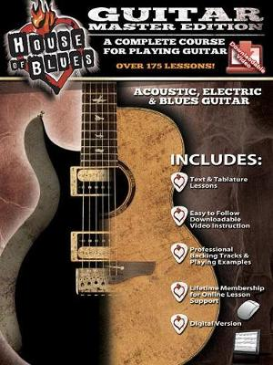 HOUSE OF BLUES GUITAR MASTER EDITION BOOK/VIDEO ONLINE (Paperback)